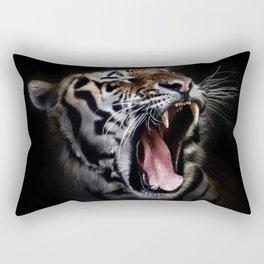 Save animal save Tiger Rectangular Pillow