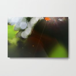 Finding the Light IV Abstract Photography Metal Print