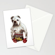 killer dog Stationery Cards
