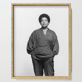 Audre Lorde - Black Culture - Black History Serving Tray