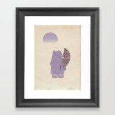 k a b u k i p o e t Framed Art Print
