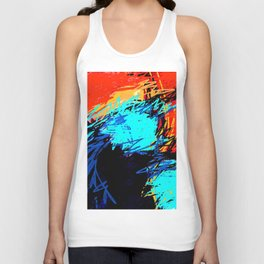 Over And Under Unisex Tank Top