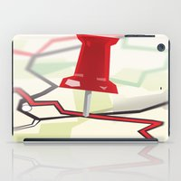 paper towns iPad Cases featuring Paper Towns by Dreki