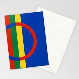 Sami flag Stationery Cards