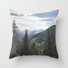 Tatra Mountains Throw Pillow