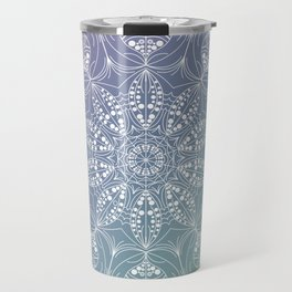 Jellyfish mandala Travel Mug