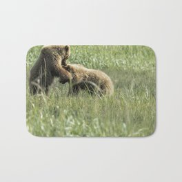 Brown Bear Cubs - The Provocation Bath Mat