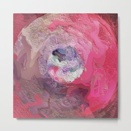 Abstract Mandala 209 Metal Print
