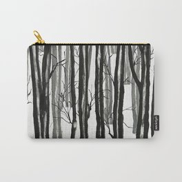 wood and snow Carry-All Pouch