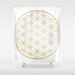 Flower Of Life, Wall Art Print, Living Room, Bedroom,Wall Art, Canvas, Mandala Shower Curtain