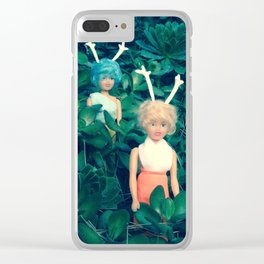 Hazel & Loy Griffith Park Clear iPhone Case