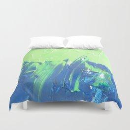 Blue & Green, No. 2 Duvet Cover