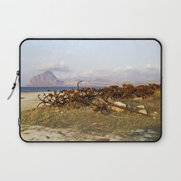 "Abandoned Old Port - Anchors - Sicily - ""VACANCY"" zine Laptop Sleeve"