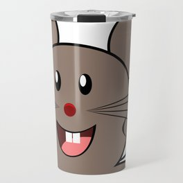 Cartoon Lovely Mouse Travel Mug