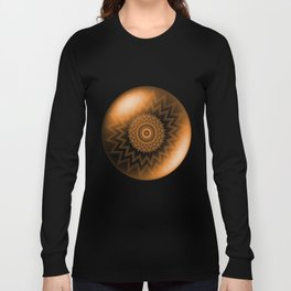Sacral Orange   Chakra Long Sleeve T-shirt