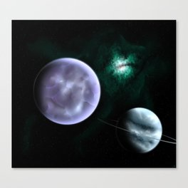 Gas Giant Planet Canvas Print