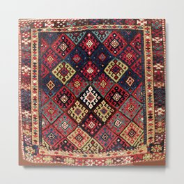 Jaff Kurdish West Persian Bag Print Metal Print