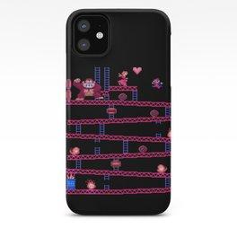 Kong Donkey iPhone Case