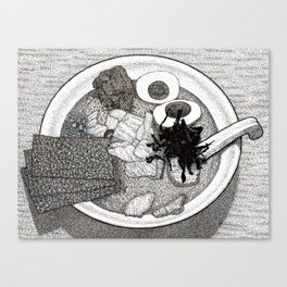 Bowl of Ramen Canvas Print