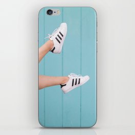 Kick up your heels, and relax iPhone Skin