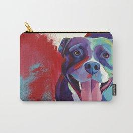 Emma - Pitbull Pop Art Carry-All Pouch