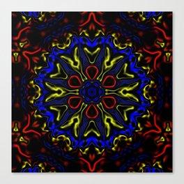 Primary Kaleidoscope Canvas Print