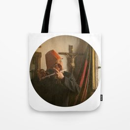 There was a child singing a very old Dutch sad song Tote Bag