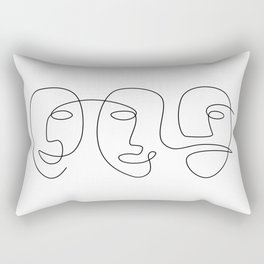 Line Carnival Rectangular Pillow