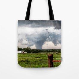 Siren - Large Tornado In Texas Panhandle Tote Bag
