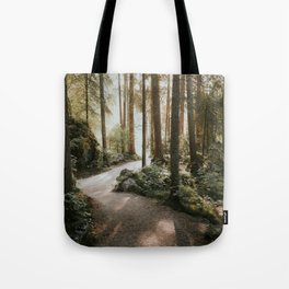 Lost in the Forest - Landscape Photography Tote Bag