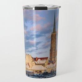 Wrocław Cathedral Travel Mug