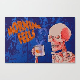 Morning feels Canvas Print