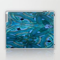 Glass Cogs In The Old Clock Laptop & iPad Skin