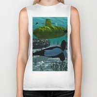 submarine Biker Tanks featuring Submarine by nicky2342