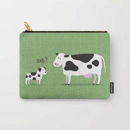 Cow dad Carry-All Pouch