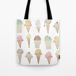 Ice Cream Paint Job Tote Bag