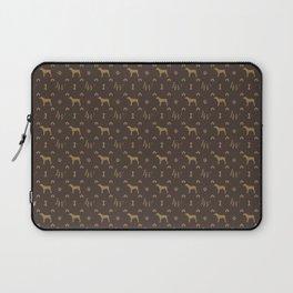 Louis Weim Luxury Dog Attire Laptop Sleeve