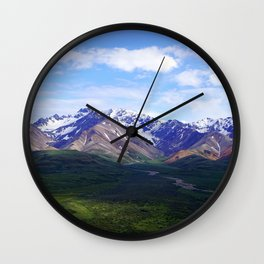 Denali, Mt. McKinley Wall Clock