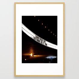 LANY at the Hollywood Palladium Framed Art Print