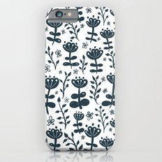 White Blooms iPhone 6s Slim Case