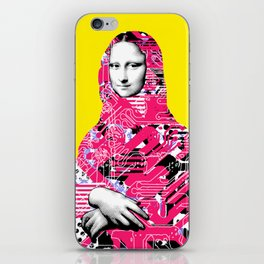 Mona Lisa Platina 6 iPhone Skin
