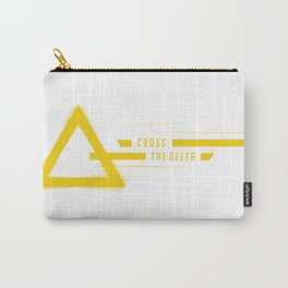 Cross the Delta - Ray Carry-All Pouch