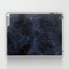 Antique World Star Map Navy Blue Laptop & iPad Skin
