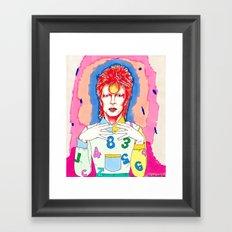 Stardust Framed Art Print