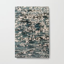 Chaotic Water Metal Print