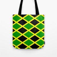 jamaica Tote Bags featuring Jamaica Jamaica Jamaica by cleopetradesign.com