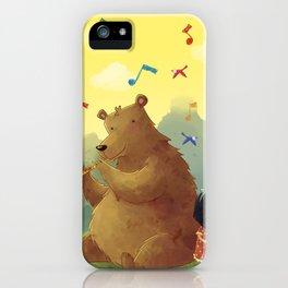 Friend Bear iPhone Case