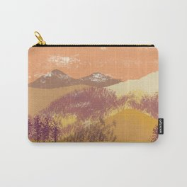 after glow union mountain Carry-All Pouch