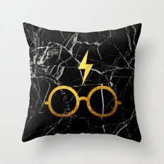 Harry P Stone Throw Pillow