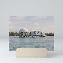 Cape Romano Domes Mini Art Print